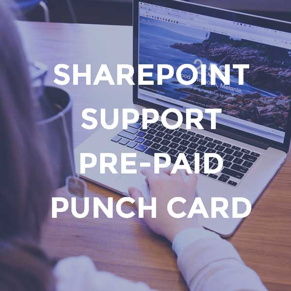 SharePoint Support Pre-paid Punch Card