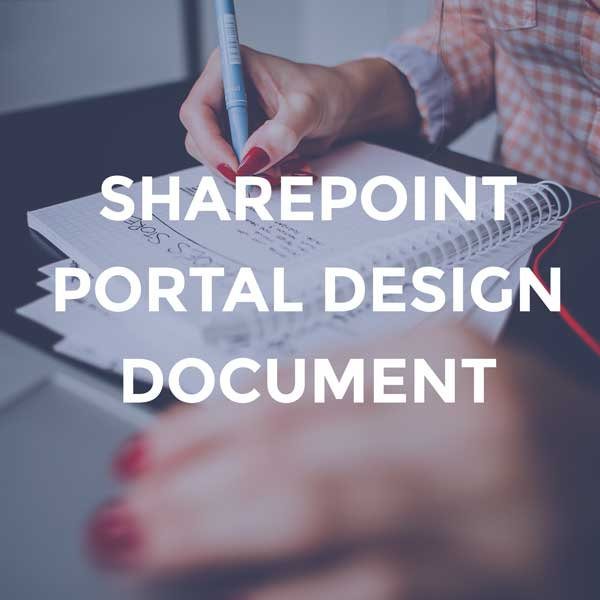 SharePoint Portal Design Document