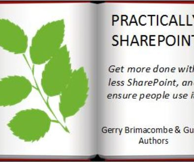 Practically SharePoint: The Book